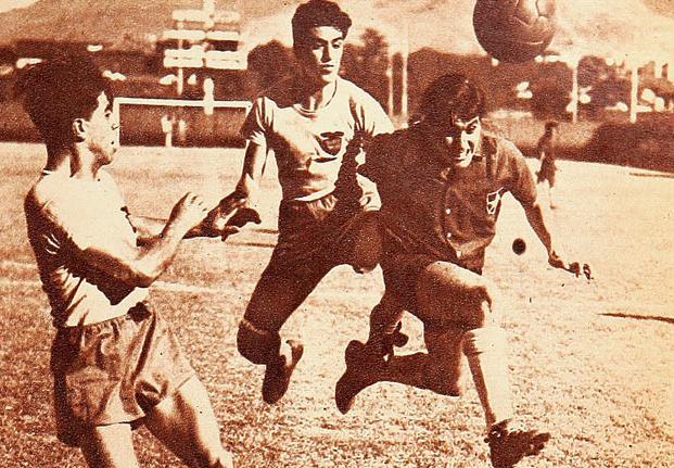 Chile y Ecuador en Campeonato Sudamericano de 1949