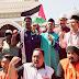 Tgk Umar Rafsanjani Pimpin Demo Trump di Malaysia