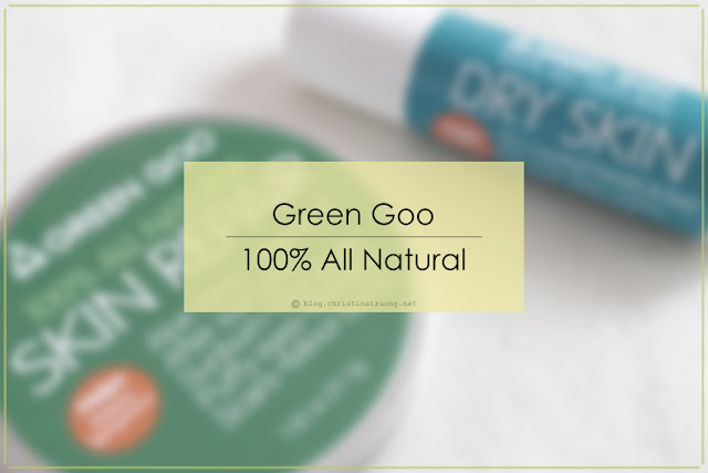 Green Goo by Sierra Sage 100% All Natural Skin Care - Skin Repair and Dry Skin Care Product Review.