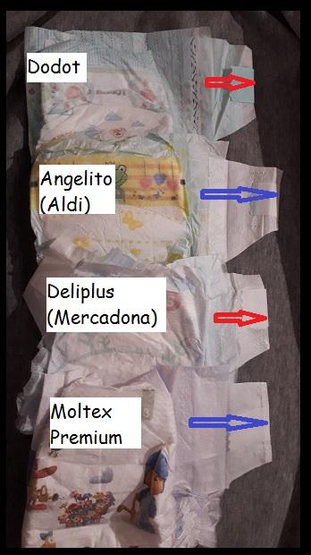Panales talla 3 deliplus