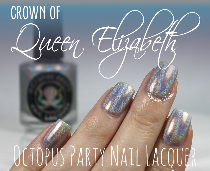 Bedlam Beauty: Octopus Party Nail Lacquer Crown of Queen Elizabeth