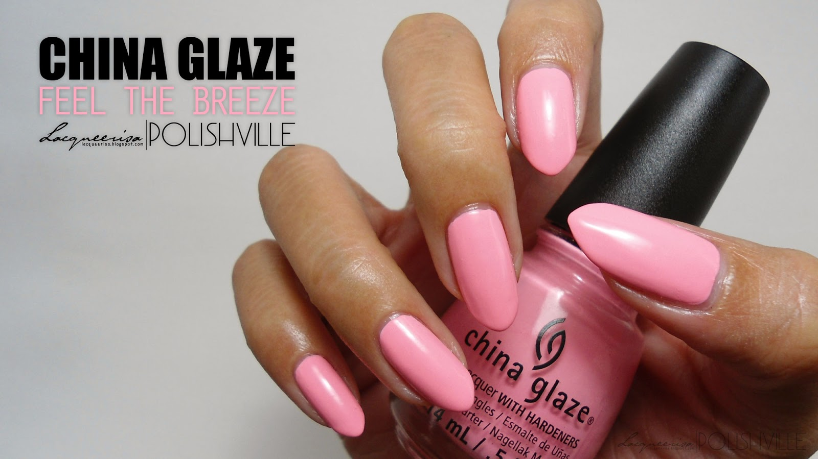 LacqueerisaXPolishville: China Glaze, Feel The Breeze