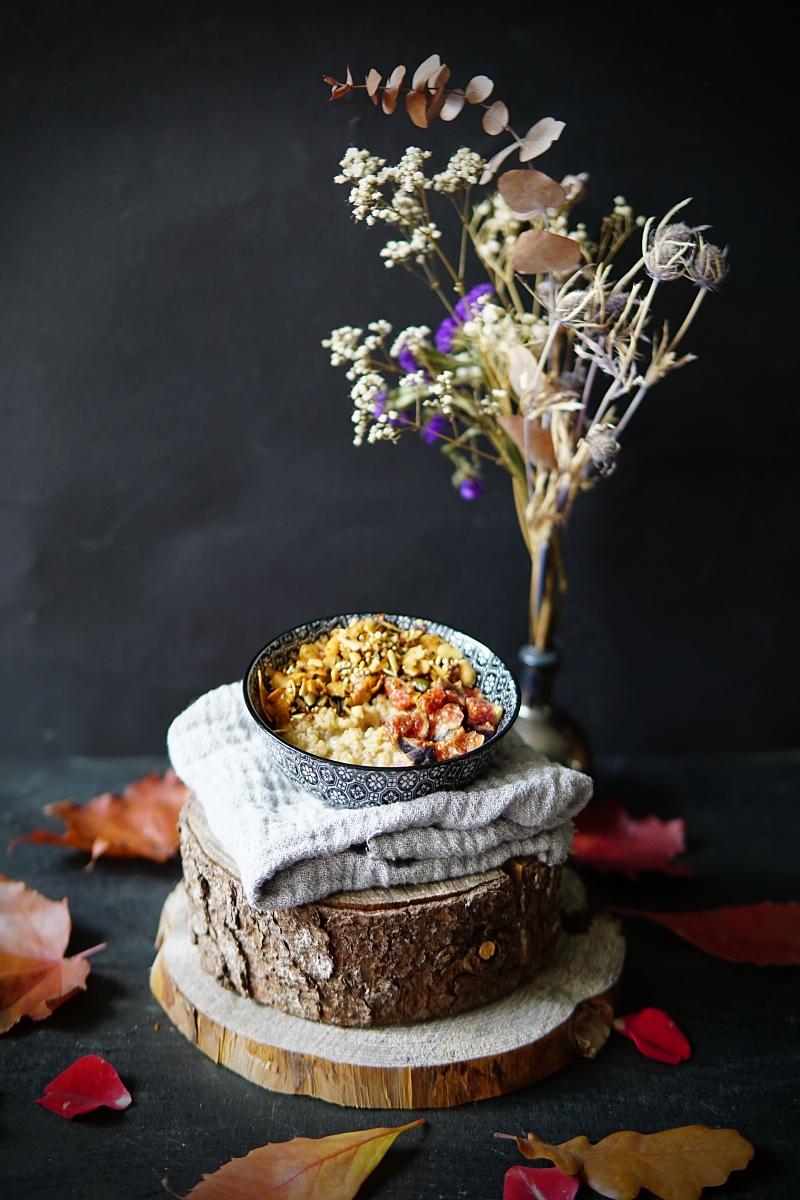 kvinoa, brunssiruoka, puuroresepti