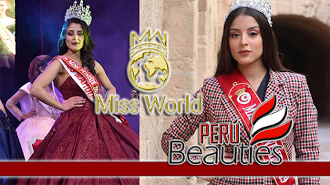 Sabrine Khalifa es  Miss World Tunisia 2019