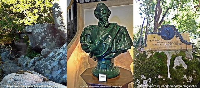 D. Fernando, Parque do Palácio da Pena, Sintra