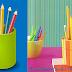 Como hacer portalápices con broches de colores