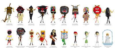 máscaras de la provincia de Zamora
