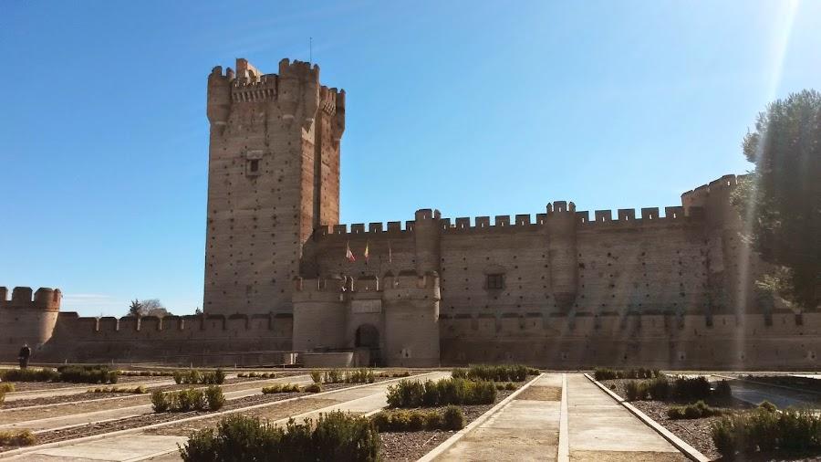 Castillo de La Mota, Medina del Campo. Vista frontal