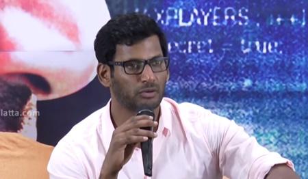Vishal & Arjun press meet | Irumbuthirai