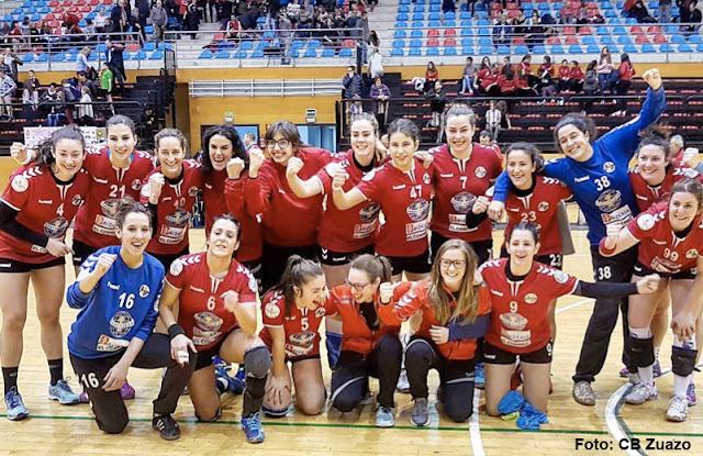 Balonmano | El Prosetecnisa Zuazo derrota al Valencia y se afianza en los puestos europeos