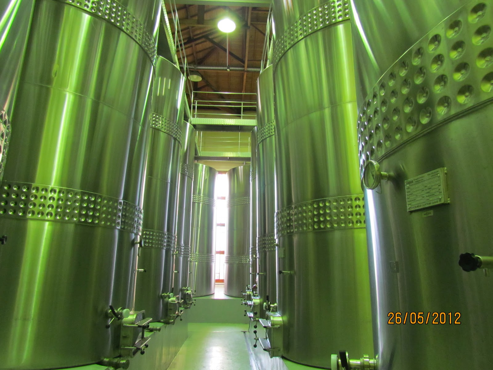Tanques para vinhos