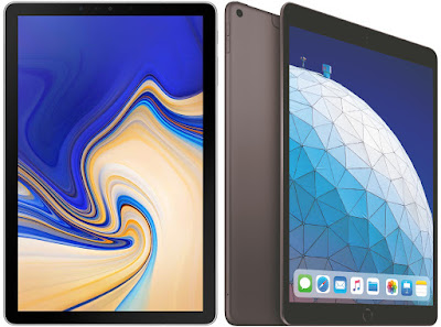 Comparativa tablets de gama alta Samsung Galaxy Tab S4 10.5 vs Apple iPad Air 3 2019