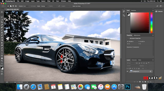 Adobe Photoshop CC 2017 DMG File For Mac OS Latest Version Free Download