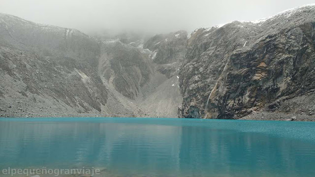 Laguna 69, lago, turquesa, nevado, glaciar