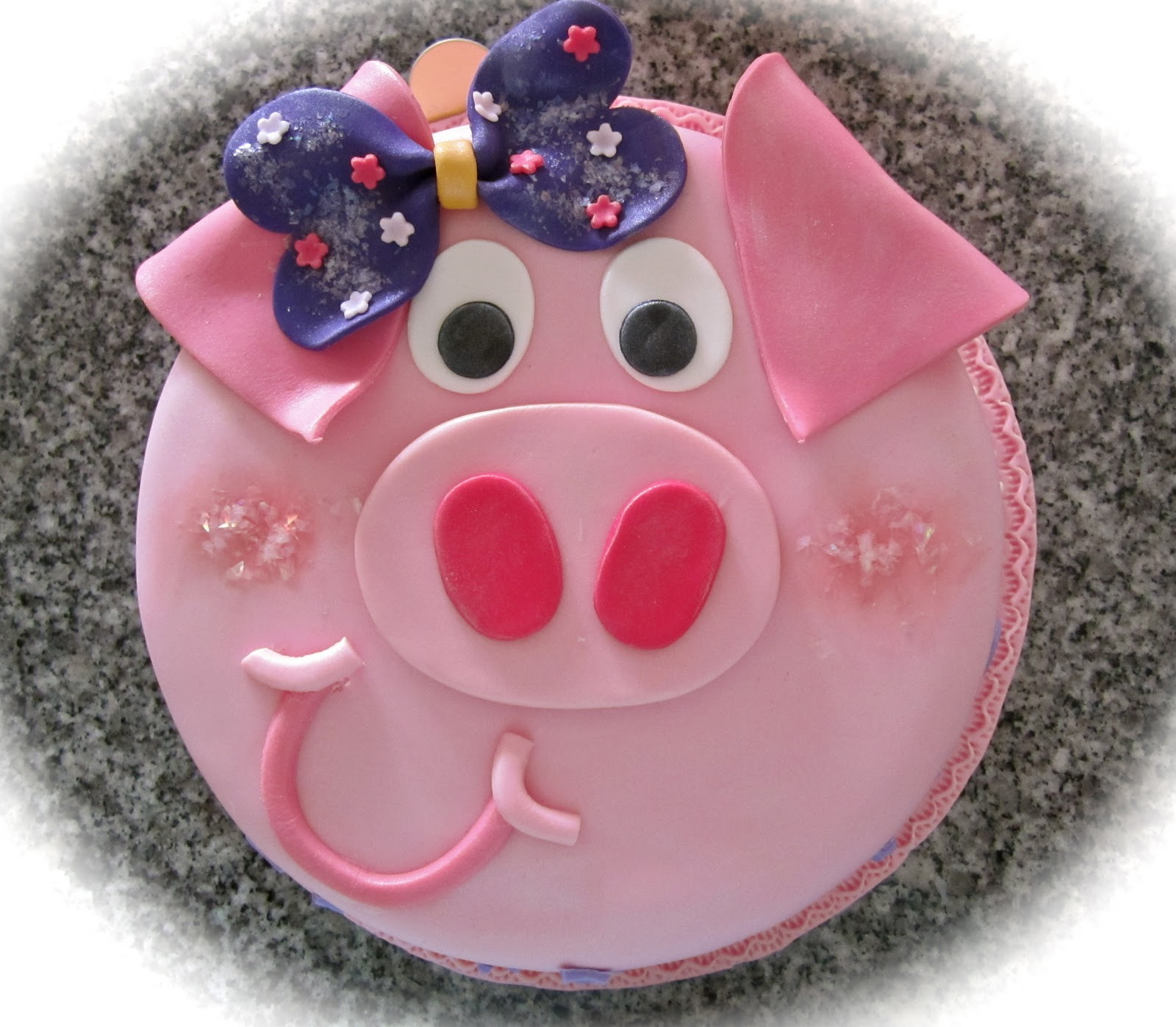 Sweet April The Story Of April Piggy Cake