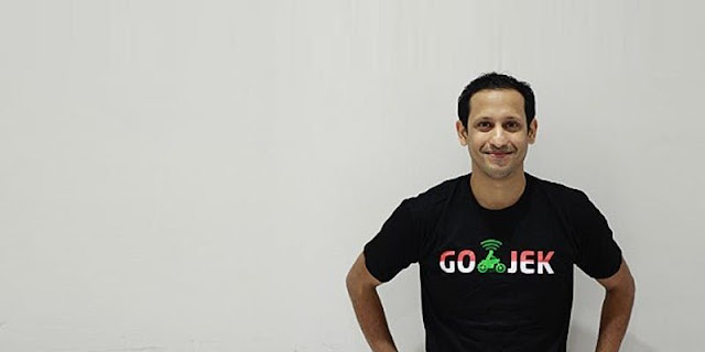 Nadiem Makarim Pendiri Aplikasi Gojek