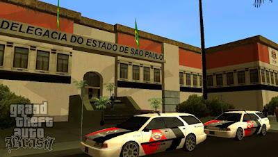 gta brasil mod tc gta brasileiro delegacia polícia são paulo