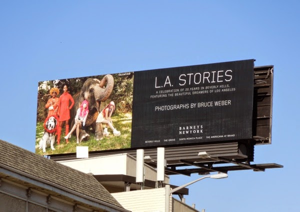 LA Stories Barneys New York billboard