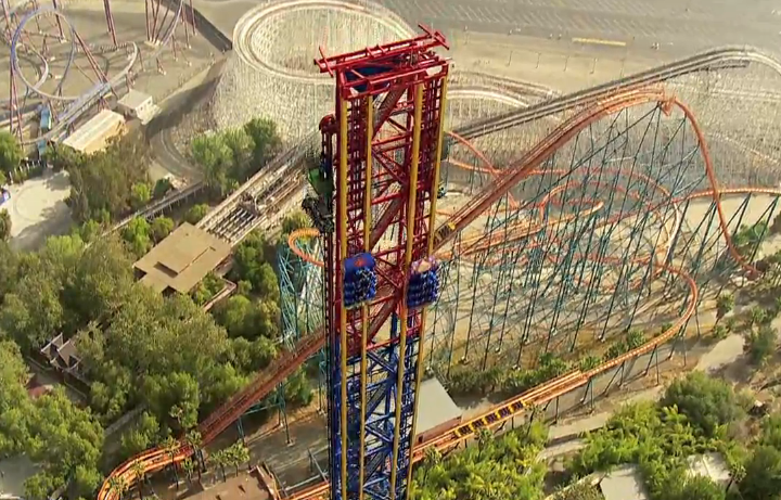 NewsPlusNotes: Lex Luthor Drop of Doom Opens as the World ...
