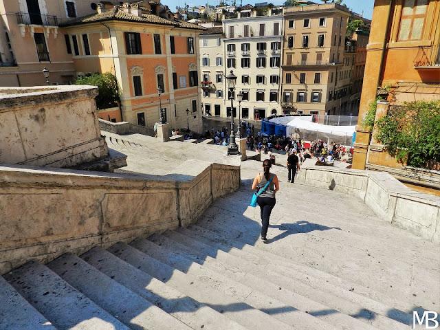 piazza di spagna roma in un giorno