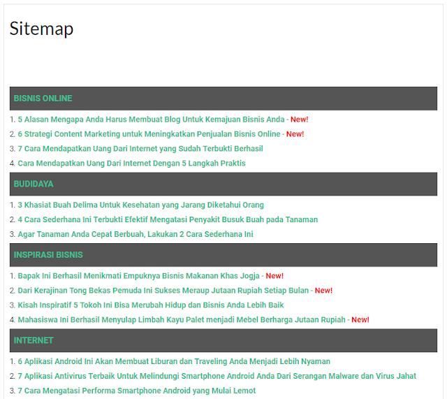 Cara Membuat Daftar Isi Otomatis Keren dan Responsive di Blog