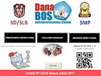 Contoh SPJ BOS 2017 2018 Jenjang SD SMP SMA Sederajat