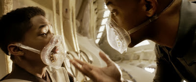 Will Smith and Jaden Smith in After Earth (2013) movie review