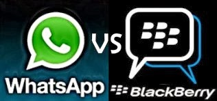 WhatsApp dan Blackberry lebih baik mana