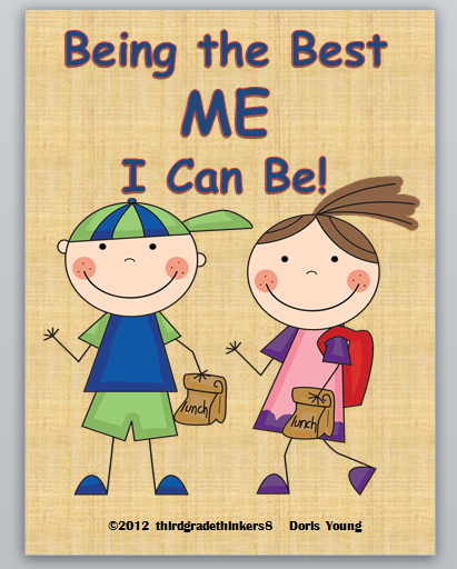 Third Grade Thinkers: Being The Best ME I Can Be: Teaching