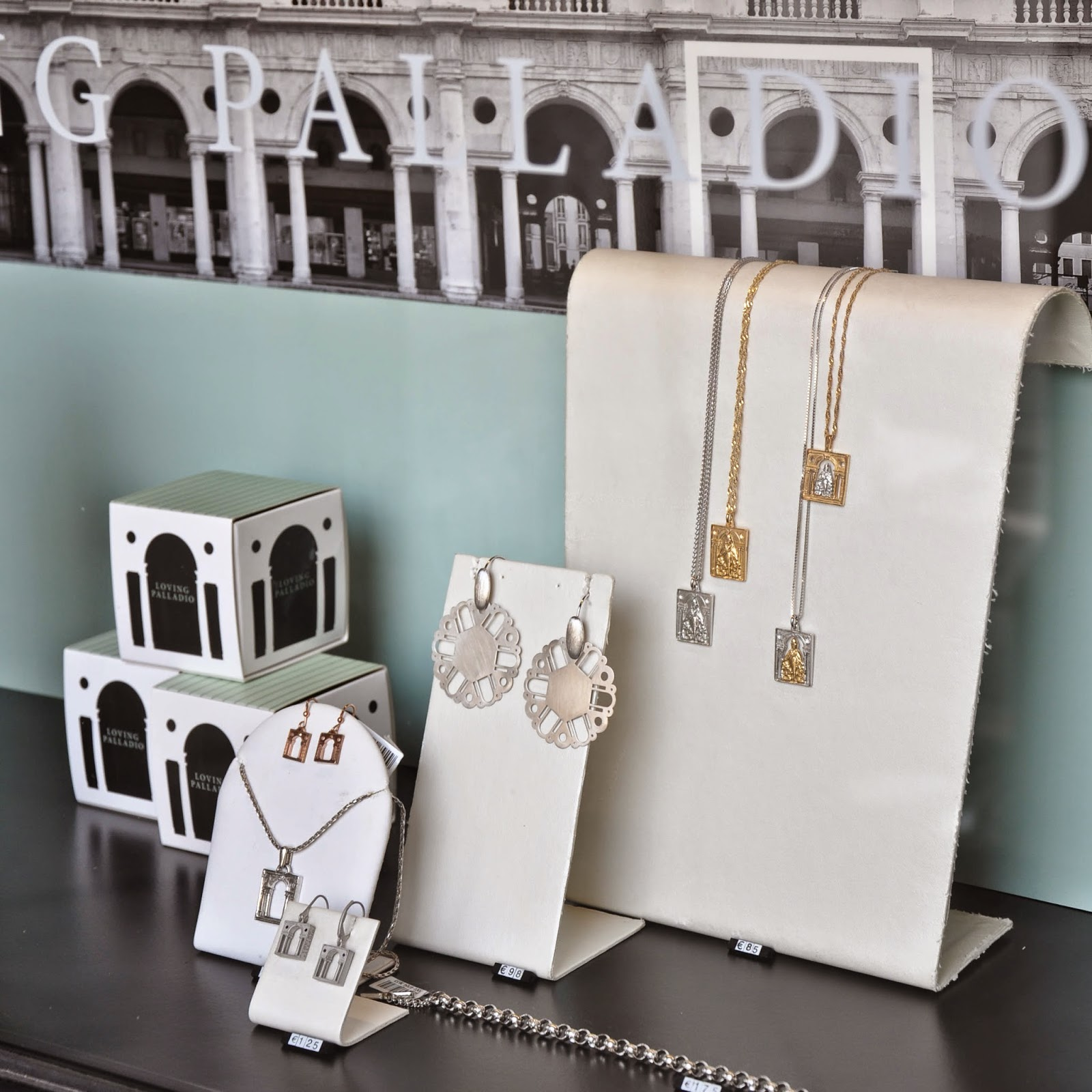 Jewellery inspired by Palladio - Gioielleria Soprana in Vicenza