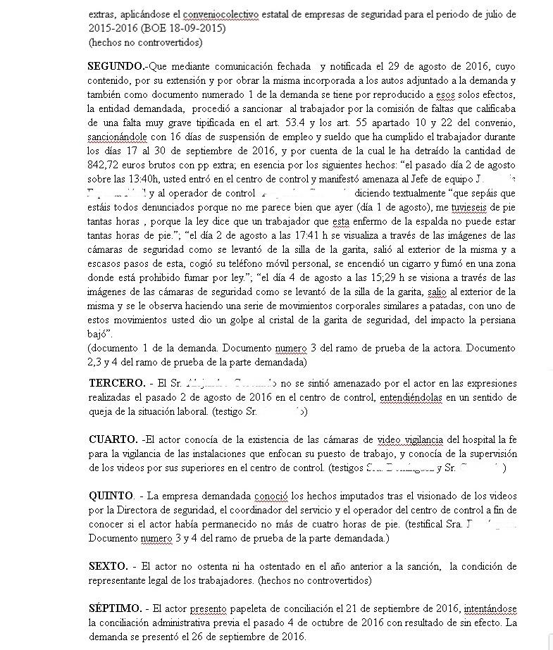 El juzgado de lo social n 14 de valencia condena a iss s for Juzgado seguridad social