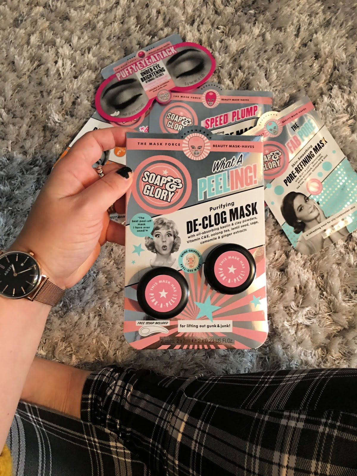 Soap & Glory what a peeling! De - Clog Mask
