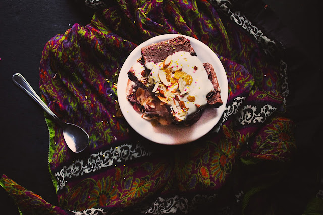 homemade smooth and creamy dark chocolate ice cream recipe without ice cream maker