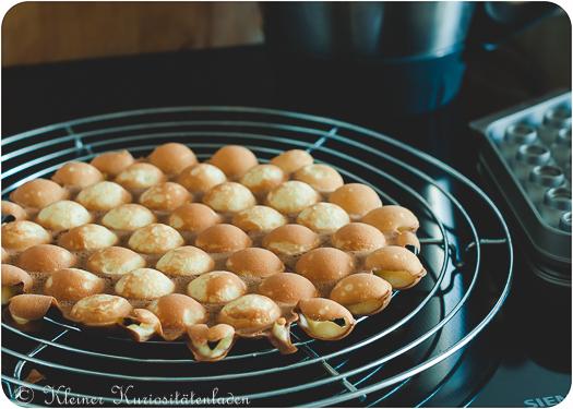 Fertige Egg Waffle