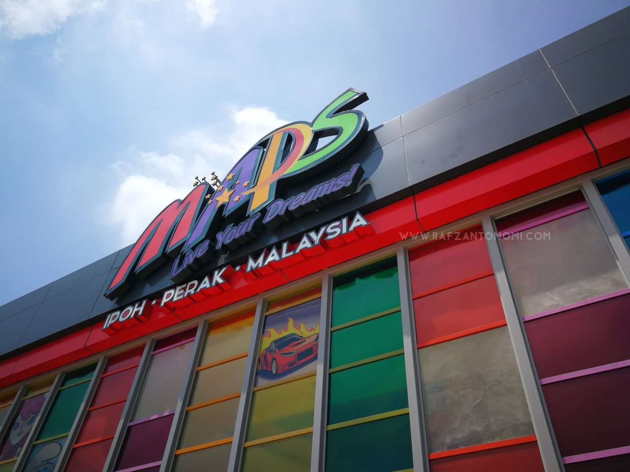 Movie Animation Park Studio MAPS Perak Review 2018