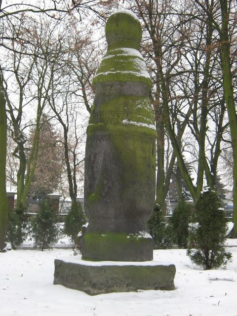 Wczesnośredniowieczny kamień milowy w Koninie