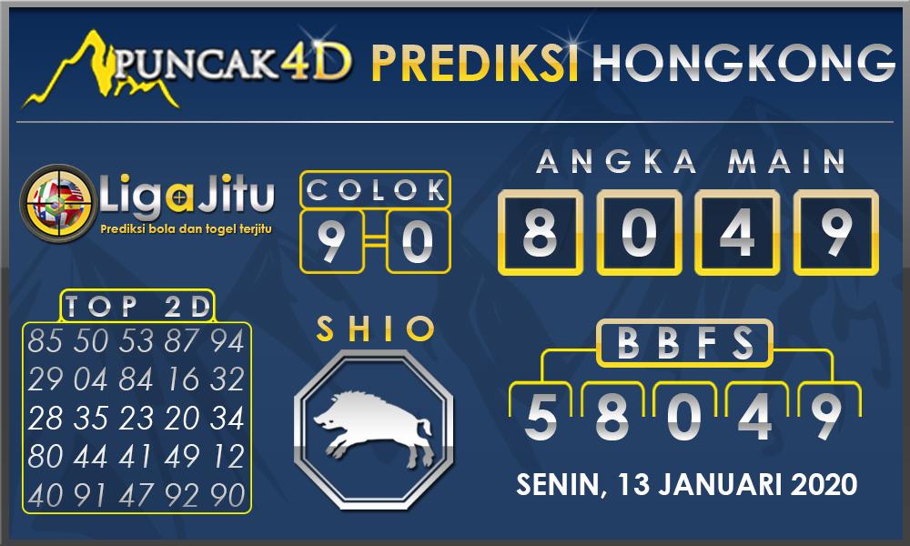 PREDIKSI TOGEL HONGKONG PUNCAK4D 13 JANUARI 2020