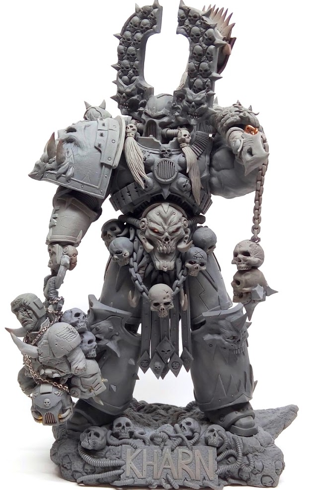 What's On Your Table: Kharn the Betrayer Statue