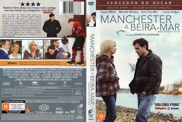 Capa DVD Manchester à Beira Mar (Oficial)