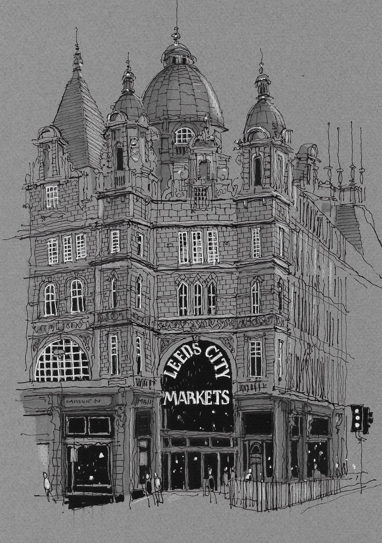 10-Leeds-City-Market-Phil-Dean-The-Shoreditch-Sketcher-Travelling-around-Europe-www-designstack-co