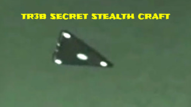 Stealth aircraft called the TR3b seen all over the world.