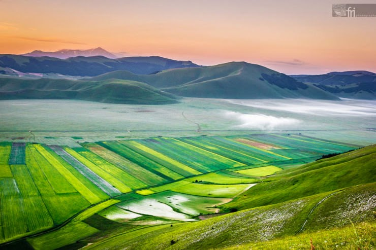 7. Castelluccio, Umbria, Italy - Top 10 Paragliding Sites