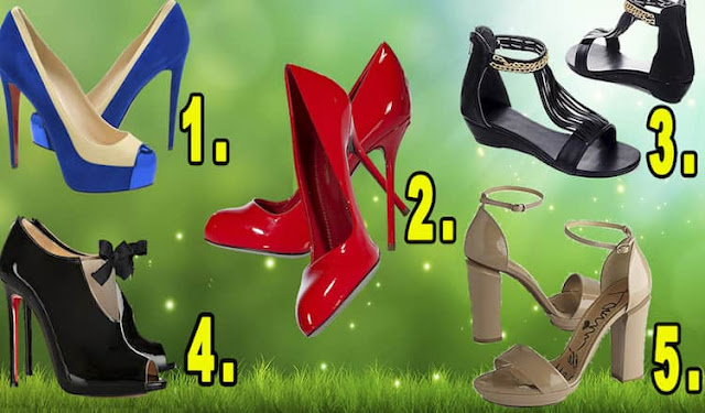 Тест: Выберите понравившиеся туфельки и узнайте насколько вы женственны!