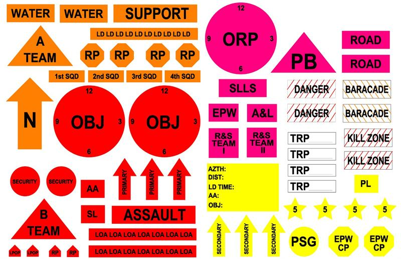 Army Map Symbols And Graphics