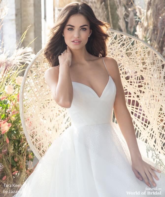 3e65bacf8cd3 Tara Keely by Lazaro Spring 2019 Wedding Dresses - World of Bridal