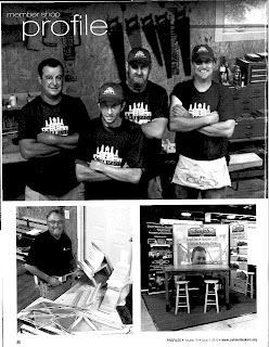 Keith Smith Builders Profiled by Cabinet Makers Association
