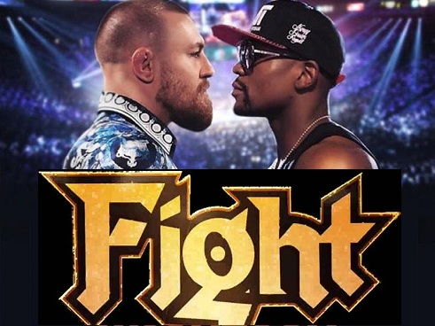 Image result for mayweather vs mcgregor fight time