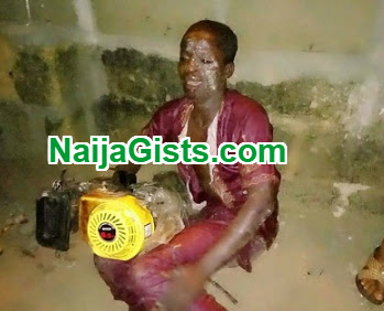 MAN STEALS GENERATOR NASARAWA