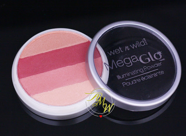 a photo of Wet n Wild Mega Glo Illuminating Powder shade Strike-A-Pose-Rose