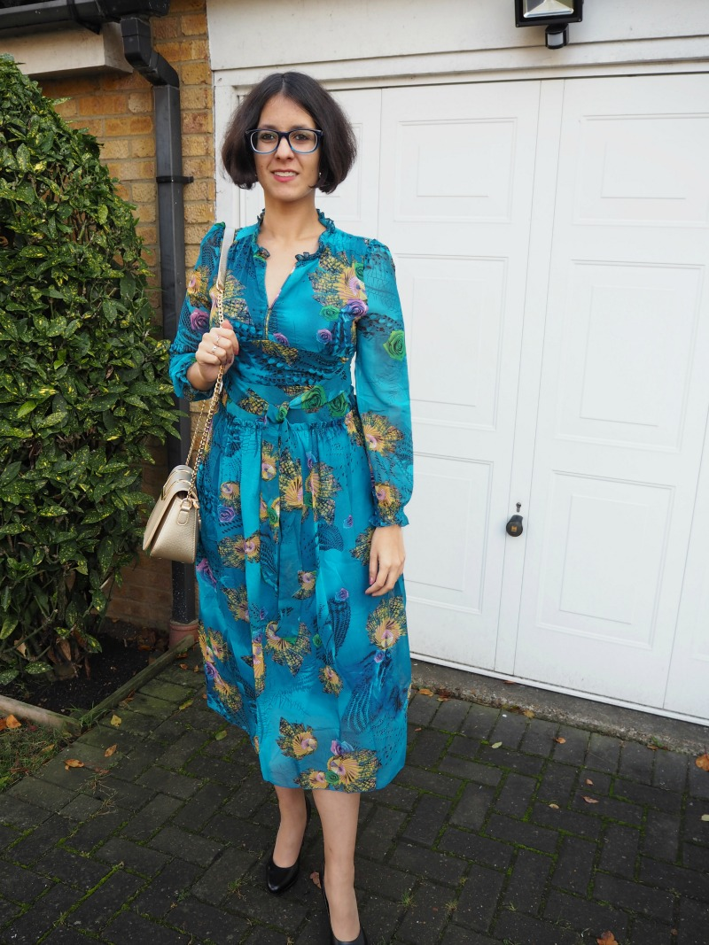 Zaful midi dress review